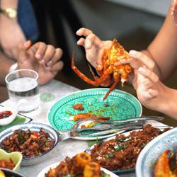 Ordering in: A Sri Lankan crab curry love affair