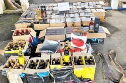 Sobering moment: Dealer, smugglers run out of luck