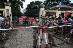 Myanmar junta re-arrests more than 100 released in amnesty: monitoring group