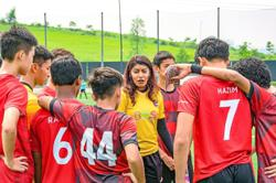 How a Malaysian female football coach thrives in a male-dominated sport