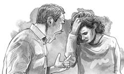 Dear Thelma: Walking on eggshells due to volatile, jobless hubby