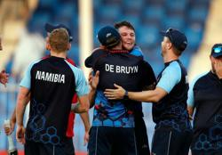 Cricket-Namibia stun Ireland to make Super 12 of T20 World Cup