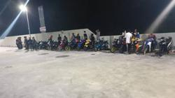 Eight mat rempit arrested during Ops at Pasir Gudang Highway
