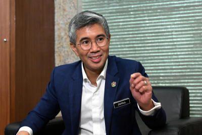 Finance Minister Tengku Datuk Seri Zafrul Abdul Aziz.