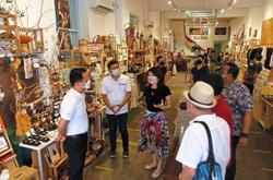 Tourism stirs back to life