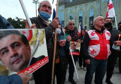 Hunger-striking former Georgian leader gets blood transfusion - Interfax