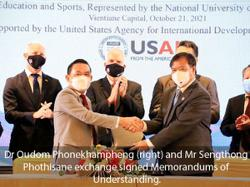 Laos and US announce new project to strengthen management of educational institutions