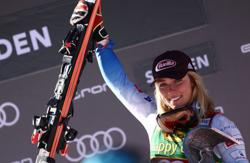 Alpine skiing-Shiffrin starts the season with her 70th World Cup win
