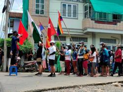 Myanmar junta-aligned party calls for dialogue with coup dissidents