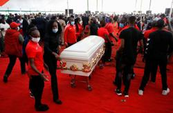 Slain Kenyan Olympian Agnes Tirop buried in her home village