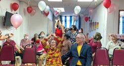 Love blossoms for seniors at nursing home amid pandemic