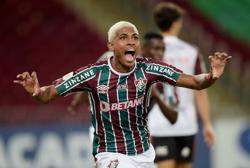 Soccer-John Kennedy presides over enthralling Fluminense derby win