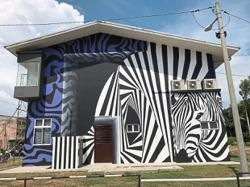 This community art space in a Selangor fishing village gets a colourful makeover