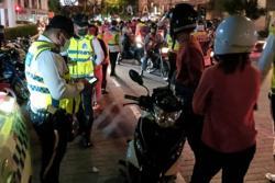 Cops arrest 14 drunk drivers, five motorcyclists in traffic op in KL