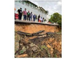 Repair works will start after review of full report on Bangsar landslide, says Shahidan