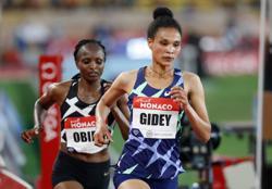 Athletics-Ethiopia's Gidey breaks half marathon world record