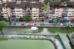 Flooded roads a fact of life for apartment folk in Shah Alam