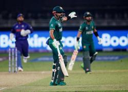 Cricket-Lucky 13: Babar's Pakistan break India jinx in style