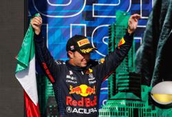 Motor racing-Perez endures 'toughest race' without water in Texas heat