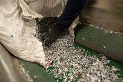 In major ocean polluter Philippines, group turns plastic waste into planks