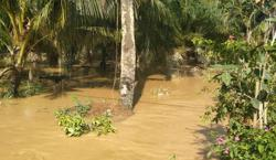 Kampung Giching residents hit by second flood in a week