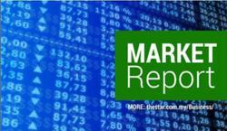 Bursa Malaysia ends near flat on cautious note