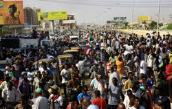 International reaction to the seizure of power by Sudan's military