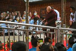 Monk brings solace in coup-torn Myanmar