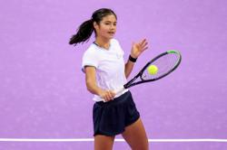 Tennis-Patience required as Raducanu looks to build on U.S. Open win
