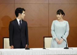 Japan's ex-Princess Mako and husband look forward to new life together
