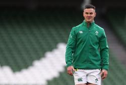 Rugby-Sexton cautious over selection for 100th Ireland cap