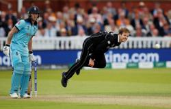 Cricket-New Zealand paceman Ferguson out of T20 World Cup with calf tear