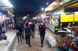 Night market organisers adopt numbering system to ensure physical distancing