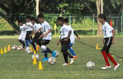 Football clinic aims to uncover talents
