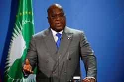 Congo swears in election chief after disputed nomination