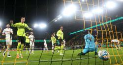 Soccer-Hazard double sends Dortmund past Ingolstadt into German Cup third round