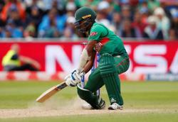 Cricket-Injured Saifuddin replaced by Rubel in Bangladesh T20 World Cup squad