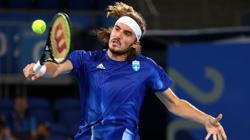 ATP roundup: Stefanos Tsitsipas survives opener in Vienna