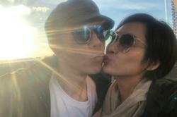 Beyond's Paul Wong shows his love to wife Athena Chu as she turns 50