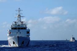 China urges US not to interfere in South China Sea