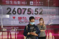 Asian markets drop as inflation, recovery return to focus