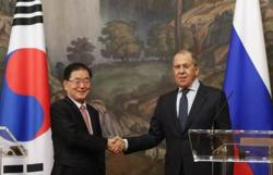 S. Korea, Russia agree to cooperate on early resumption of talks with N. Korea