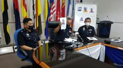 Cops nab two over two-hour robbery spree, another suspect still at large