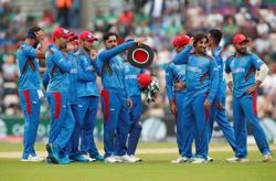 Cricket-Unfazed by uncertainty, Afghans chase T20 Cup semis dreams