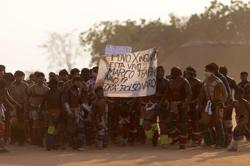 Violence against Brazil's indigenous people rose last year, report finds